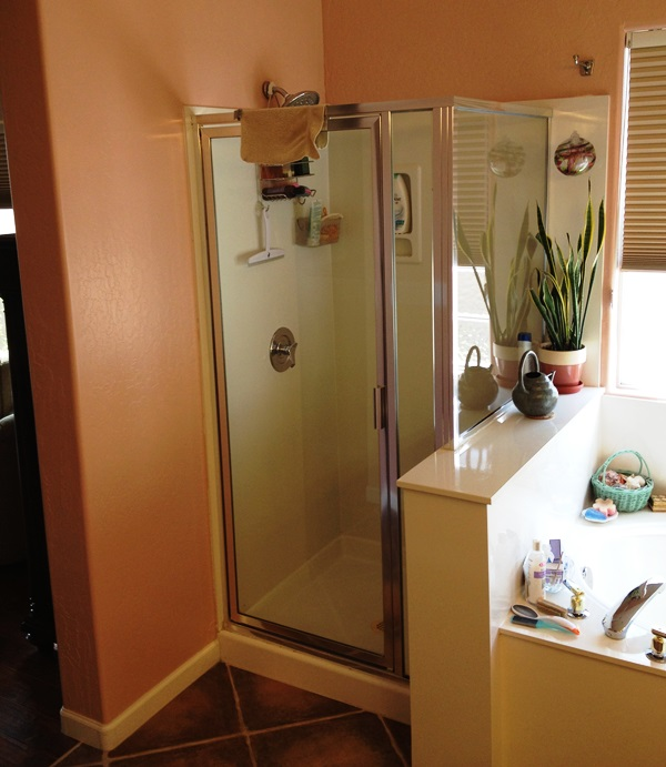 bathroom remodel phoenix az with curbless barrier free shower