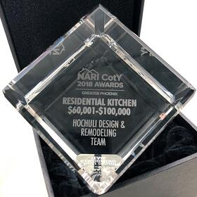 Chandler Kitchen Remodel Contractor Awards