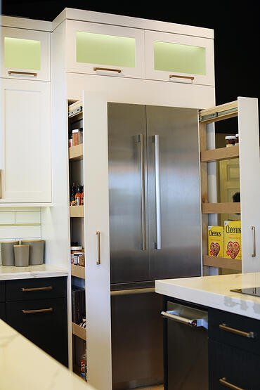 Custom cabinets in chandler kitchen remodel