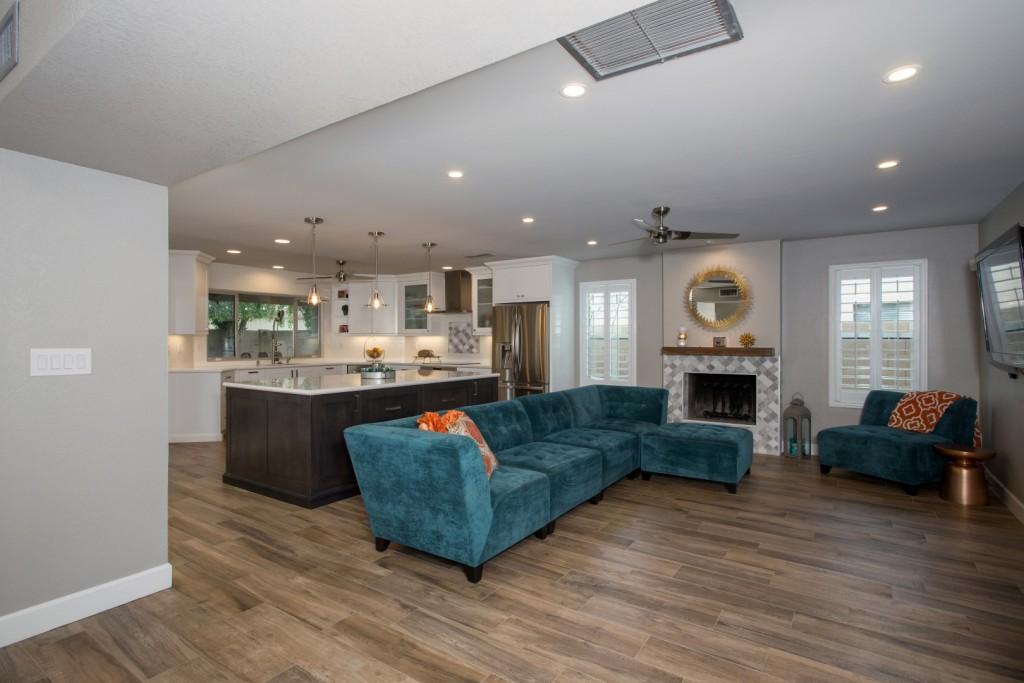 Design-build kitchen remodel contractor in tempe, az