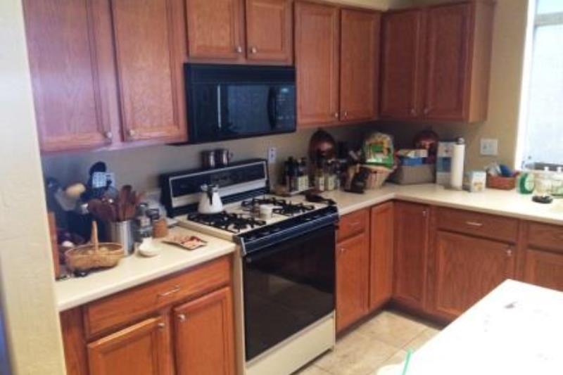 Kitchen Remodel Phoenix Quartz Countertops Elmwood Inset Cabinets