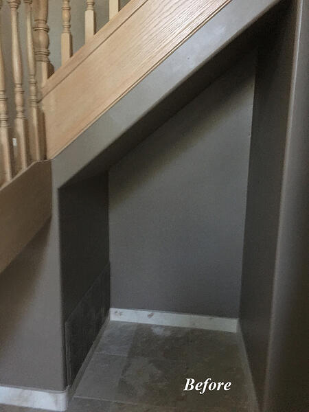 Stair Case Remodel Before/After PIctures