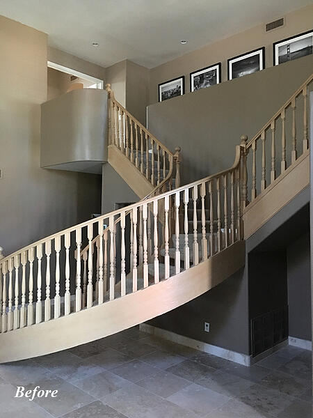 Stair Case Remodl Contractor in Phoenix