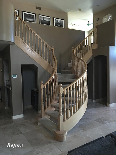 Phoenix Staircase Remodel