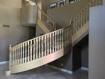 Stairway remodeling contractor in phoenix