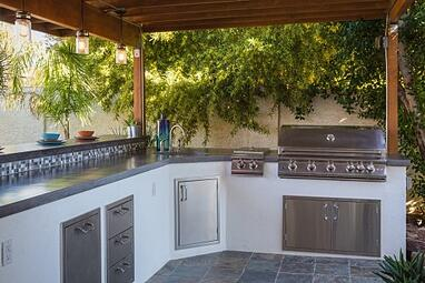 Custom Outdoor Kitchen in Chandler, AZ
