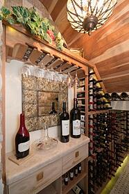 Under-Stair Wine Cellar Project in Phoenix, AZ