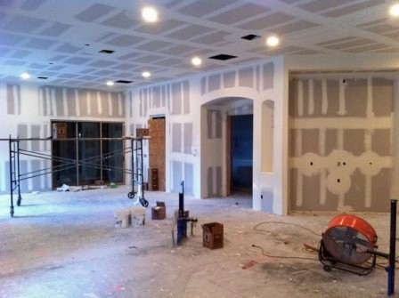 addition drywall