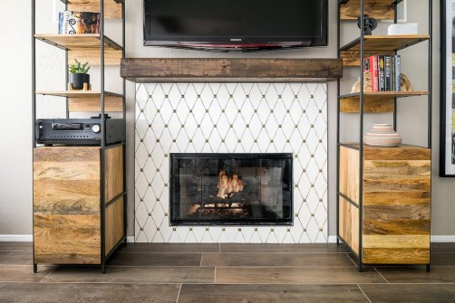 Design Build Remodel Contractor Fireplace Facelift