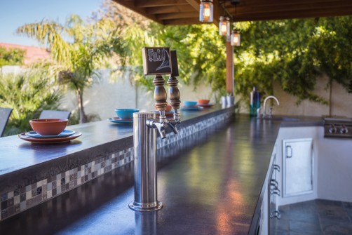 Custom Outdoor Kitchen in Chandler, AZ