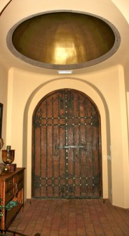 Golden Dome Entryway in Mesa, AZ