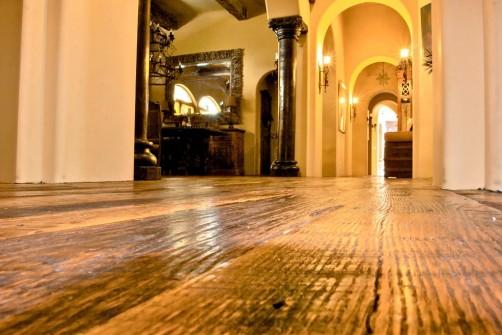 reclaimed wood floor in Mesa, AZ