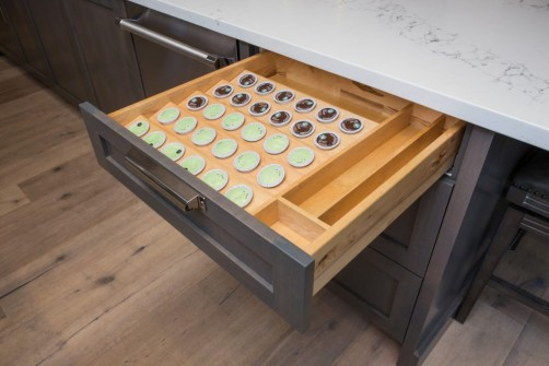 Coffee Capsule pull-out drawer