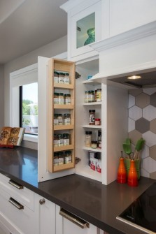Custom Spice Cabinet