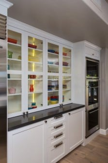 Decorative Storage in Phoenix Kitchen Remodel