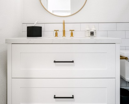 Scottsdale Bathroom Remodeling with Gold and Black