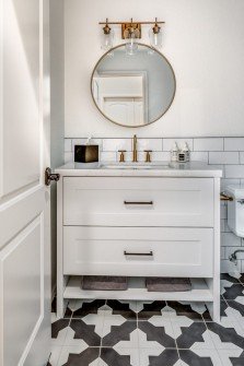 Scottsdale Bathroom Remodel with Cement Tile