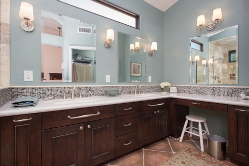 spa-like bathroom remodeling in phoenix, arizona
