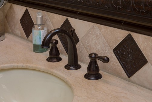 guest bathroom in phoenix, arizona