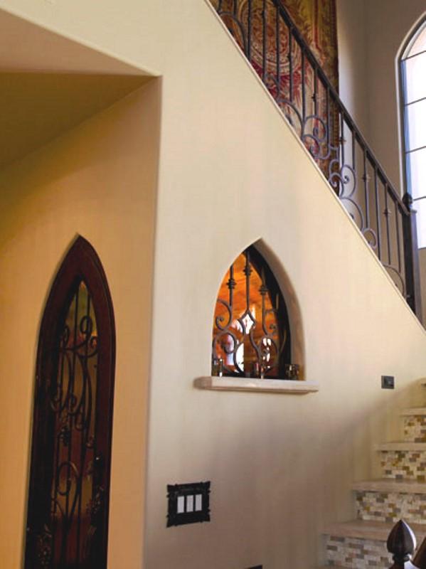 custom iron doors in phoenix, az by home remodeling contractor