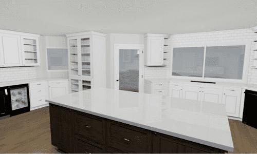 Phoenix Kitchen Remodel Before & After Kitchen Renderings