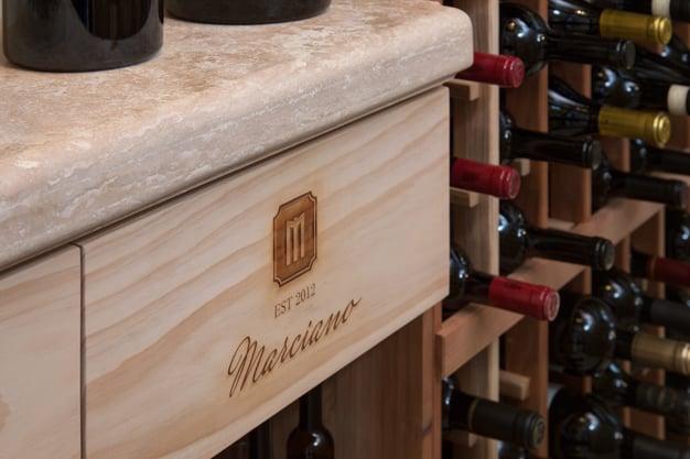 custom wine cellar design in phoenix