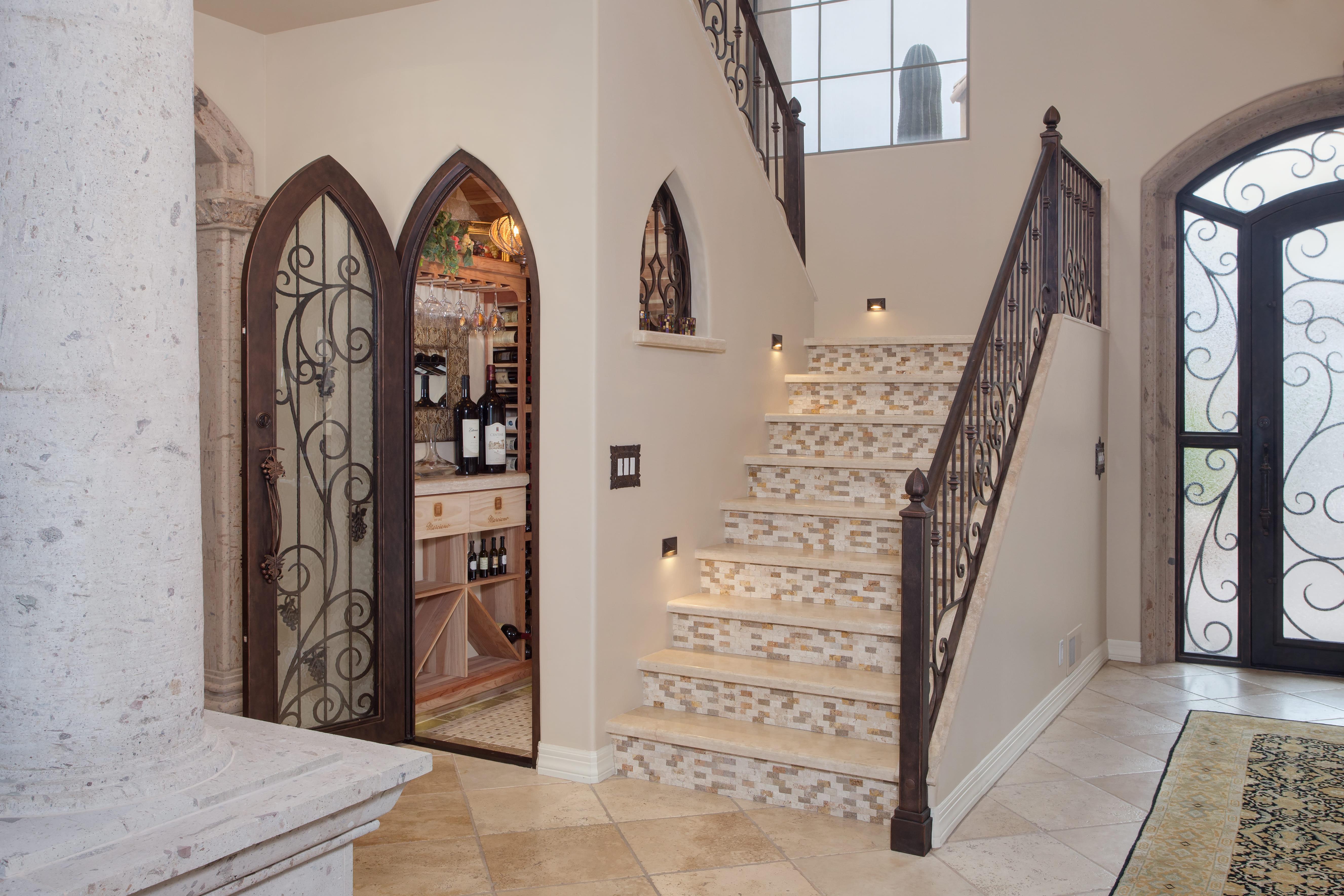 design build wine cellar in phoenix